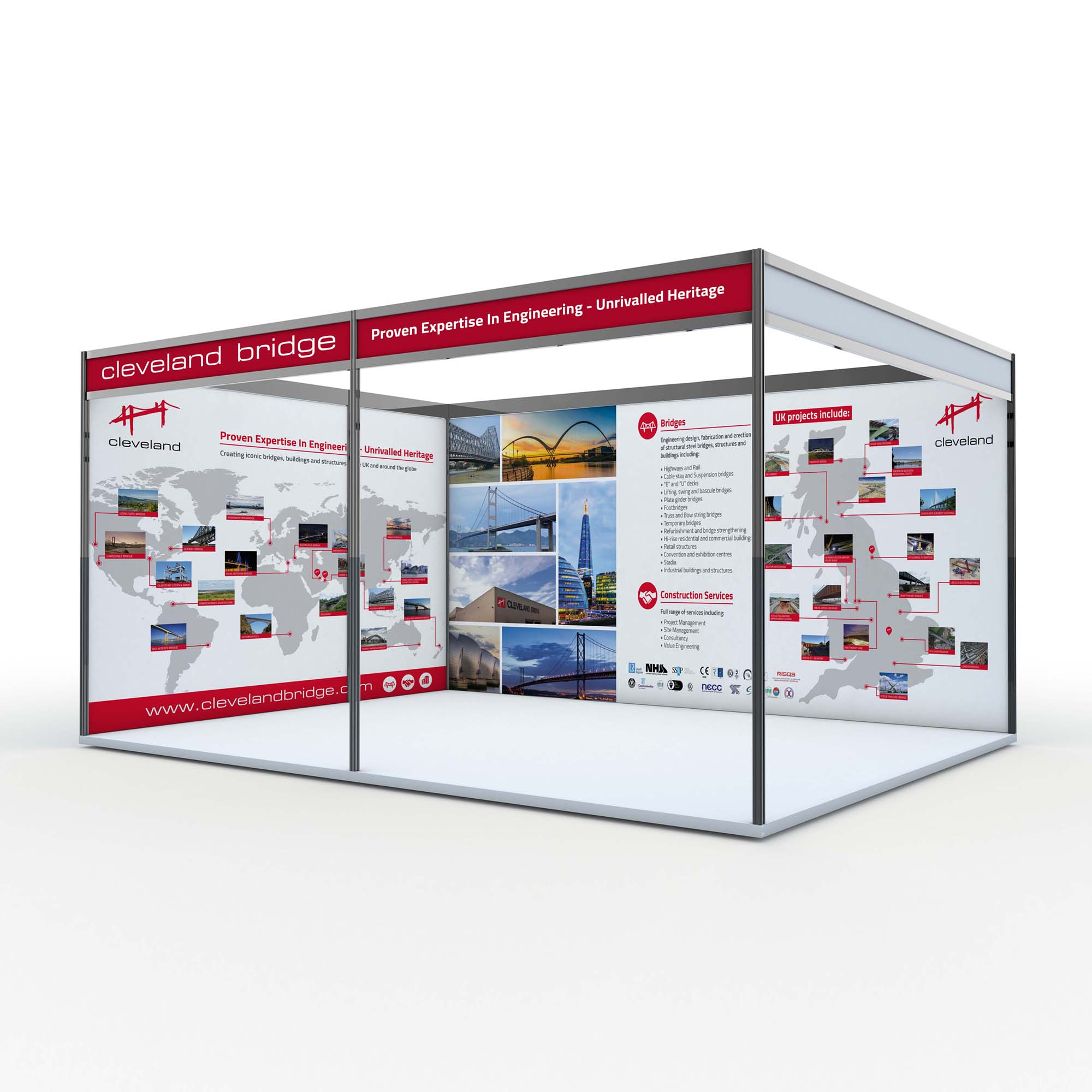 Cleveland Bridge Exhibition Graphics