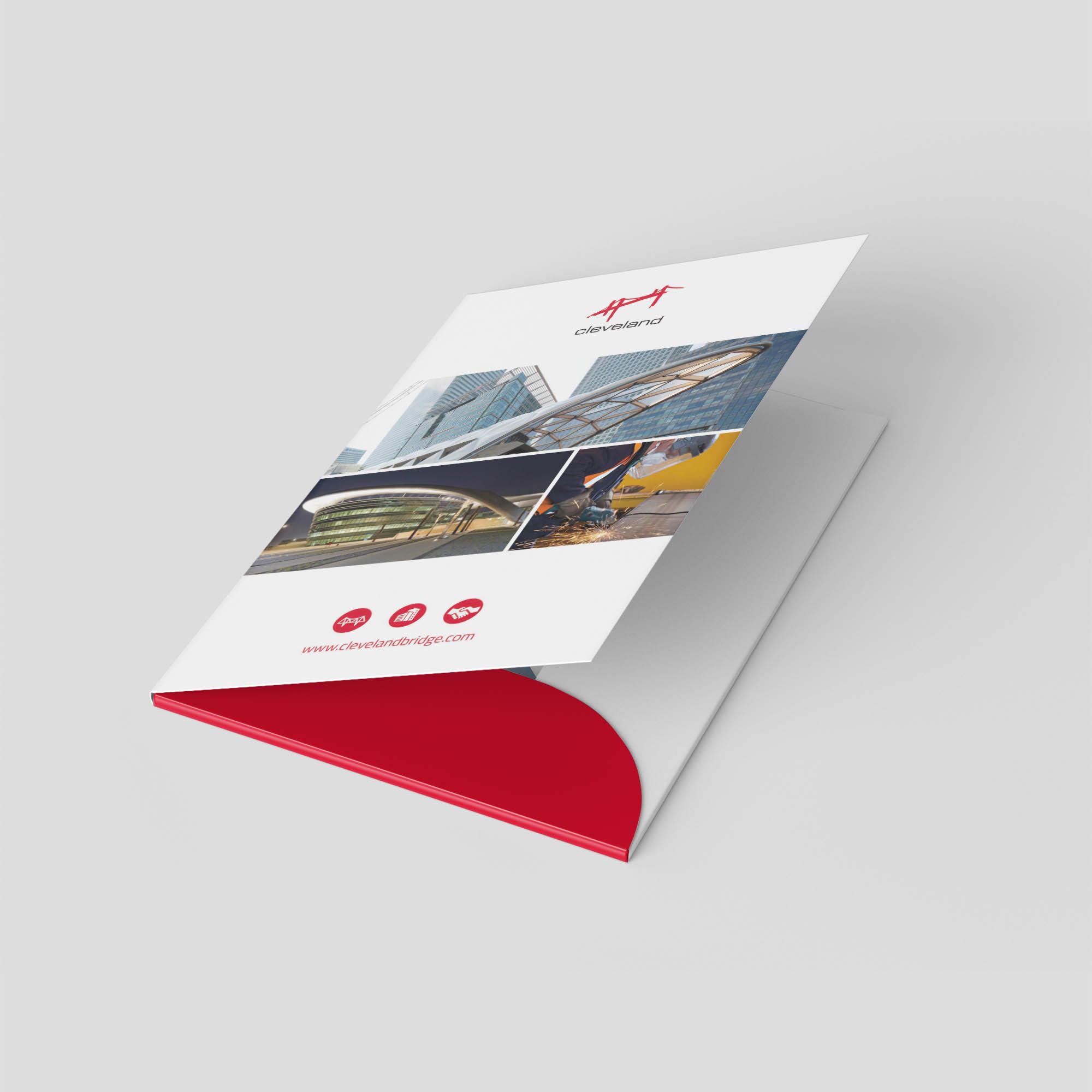 Cleveland Bridge Presentation Folder inside