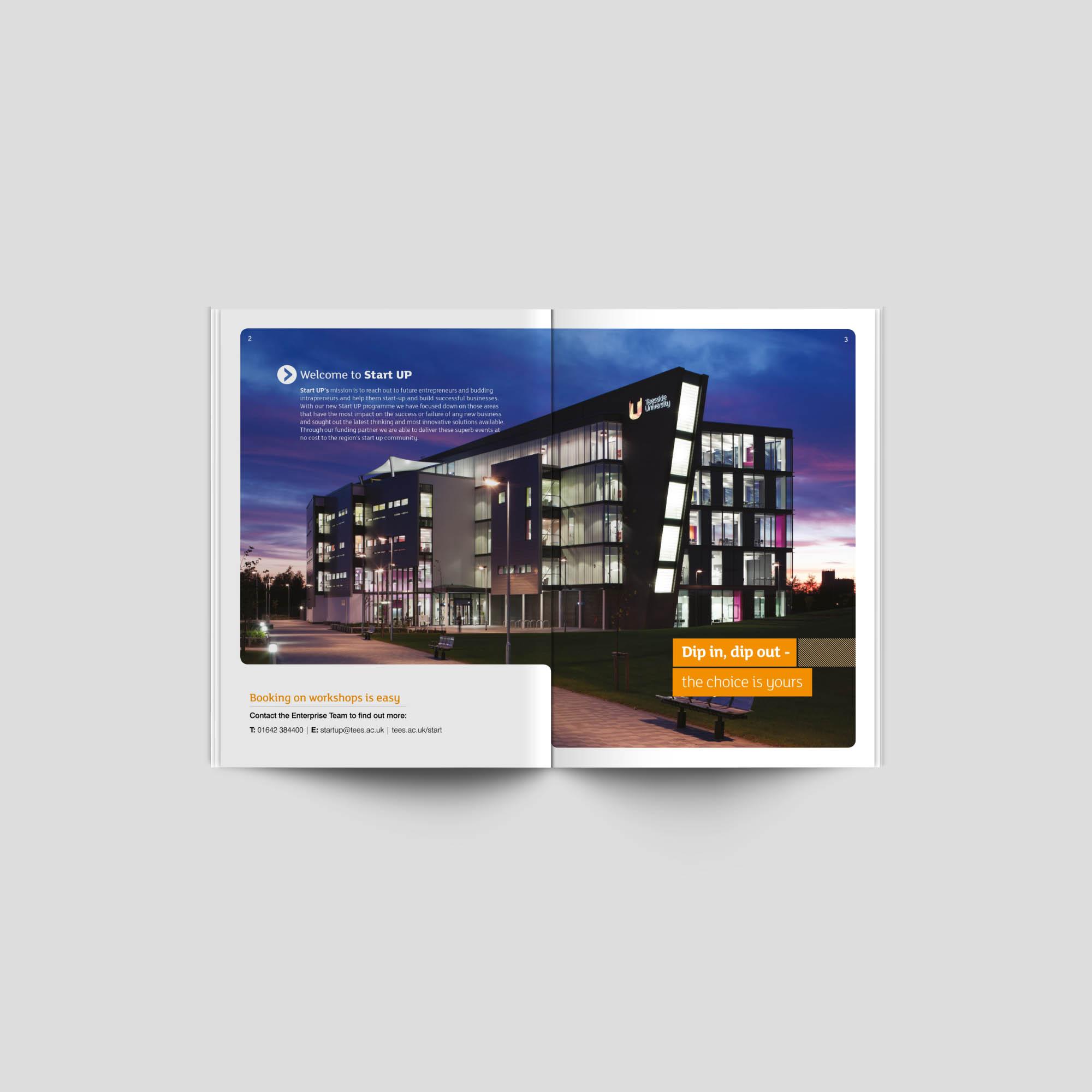 START Brochure Teesside University