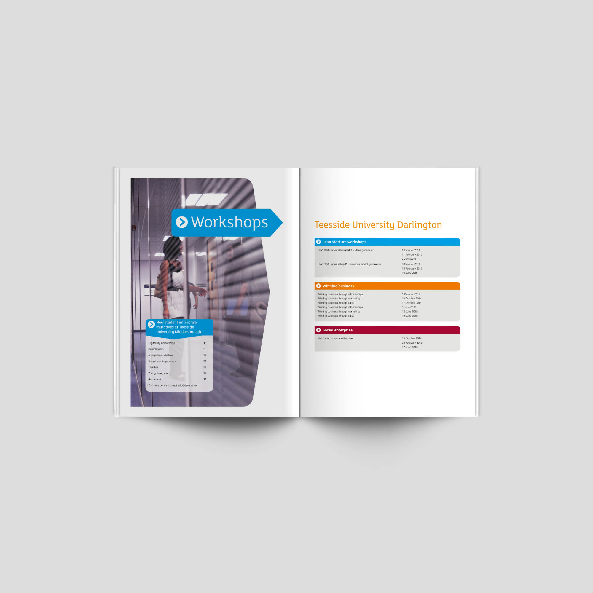 START Brochure Spread Teesside University